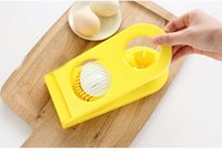 Wholesale Hot sales in1 Cut Multifunction Kitchen Egg Slicer Sectioner Cutter Mold maker Flower Edges