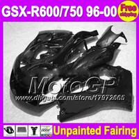 Precio de Suzuki gsxr750 fairing-7gifts sin pintar carenado completo kit para SUZUKI GSXR600 GSXR750 GSXR 600 750 96 97 98 99 00 1996 Body 1997 1998 1999 2000 carenados Carrocería