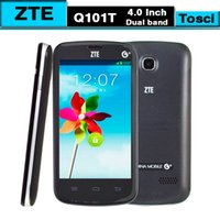 Cheap GSM850 Cheap Android cellphone Best Android ZTE ZTE Q101T 4.0 inch
