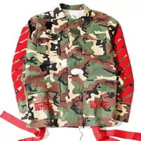 urban clothing - hip hop brand men clothes urban clothing fall fashion kryptek camo military kanye west jacket camouflage off white virgil abloh