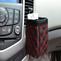 Wholesale Automotive Pouch Wine Barrel Outlet Compartment Car Seat Bag For Tools Mobile Phone Practical