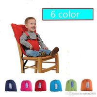 Wholesale Baby Kids Dining Feeding Chair Travel Safety Seats Portable Folding Belt Strap Harness Carrier A5