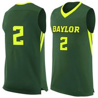 baylor basketball - No Baylor Bears College Basketball Jersey embroidery setback cheap Jerseys men size S XL fast shipping