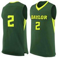 baylor basketball jersey - No Baylor Bears College Basketball Jersey embroidery setback cheap Jerseys men size S XL fast shipping