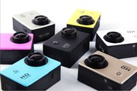 Wholesale SJ4000 Gopro Style Mini Sport DV Cam Inch Screen Action Camera P HD M Waterproof Car Camera DVR Digital Camcorder