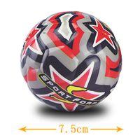 balls bouncing - Soccer ball for Kids size3 PU foam ball Football soprt Children educational sports toy gift degree full colorful