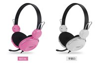 Wholesale CT computer head mounted music dazzle colour headphones Lovely fashion