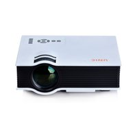 Wholesale Newest uc40 projector Korean Mini Pico portable Projector AV VGA A V USB SD with VGA HDMI Home Theater Projectors projetor beamer