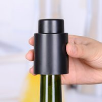 Wholesale 1 Hot Sale New Stainless Steel Vacuum Sealed Red Wine Bottle Spout Liquor Flow Stopper Pour Cap