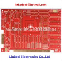 batch pcb - Gold finger immersion gold PCB prototype hard gold PCB Small batch
