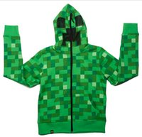 Wholesale 2014 Hot Sale autumn winter camouflage minecraft coats minecraft hoodies minecraft clothes minecraft supplies Adult coat LJJD527