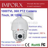 Wholesale 1 Sony CCD Effio E tvl IR outdoor Security CCTV dome camera IP66 X zoom surveillance camera DHL and EMS
