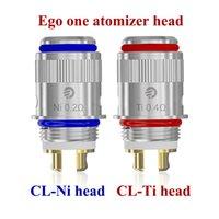 Wholesale Original Joye tech Evic vt CL Ni CL Ti Coil Head Ego One Coils for joytech ego one mini mega evic vt replacement atomizer coils