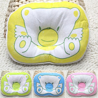 baby pillow infant - Hot Sales Best Quality Soft Newborn Baby Infant Prevent Flat Head Shape Support Sleeping Positioner Pillow Fx304