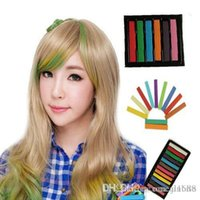 Wholesale Hot Easy Temporary Color Hair Dye Crayon Chalk many Colors Hair Care Styling Hair Color Salon Kit Set JF B2