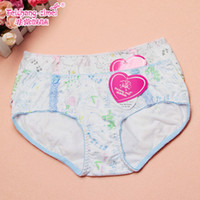 Wholesale underwear shorts summer style cotton panties pubescent young girls SL810