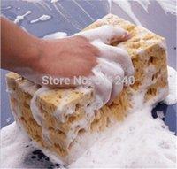 Wholesale New Fashion Hot Sale Mini Yellow Car Auto Washing Cleaning Sponge Block A5