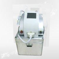 el uso del salón de eliminación del vello con láser profesional IPL + cuidado de la piel RF equipo de la belleza Elight con pantalla táctil