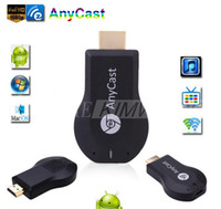 Nueva Anycast M2 Plus DLNA Airplay WiFi Pantalla Miracast Dongle de HDMI 1080P Receptor Multidisplay AirMirror Mini Android TV adhiera mejor ezCast