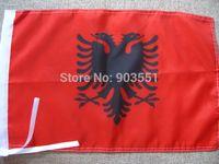 Wholesale Albania flag banner Albanian flag banner x5 ft