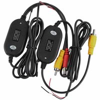 Wholesale 2 G Wireless Video Transmitter Receiver Module for Car Backup Rear View Camera for Car DVD Car Monitor Wireless Car Reversing Camera