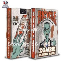 bicycle playing cards - Original Genuine Bicycle Zombie Poker Playing Cards