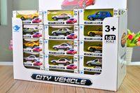Los niños de simulación de control Volver juguete 1/87 aleación al por mayor de modelo de coche, niños regalo de cumpleaños de colección Artes artesanías 240pcs / lot