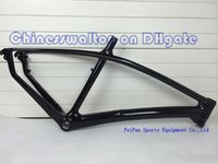 mtb bicycle frame - No decal super light golssy finish Mountain bike frameset MTB supper carbon bicycle frames matte glossy finish size er
