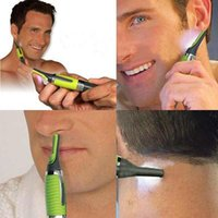 Wholesale Multifunction Personal Electric Nose Trimmer Build In LED Light Hair Ear Eyebrow Sideburns Shaver A3116