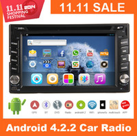 Unisex din dvd gps pc - Android Capacitive Touch Screen Double Din G Wifi Car DVD GPS Video Player BT Indash Radio Navigation Stereo Audio Vehicle CD BT TV PC