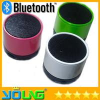 home speakers - Hot S10 Bluetooth Speakers Mini Wireless Portable Speakers HI FI Music Player Home Audio mini speaker for iphone iphone Mp3 Playerard
