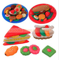 Wholesale Clay Color Plasticine Clay Mold Suit Barbecue Safe Non toxic Children s Educational Toy toy pump molded letters