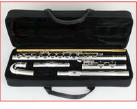 G alto keys - NEW advanced Silver alto flute with case outfit G key alto flute mouthpieces China Factory