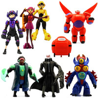 Wholesale New Big Hero Action Figure Toys Baymax Dolls Model Toys Children s Toys Birthday Festival Gifts