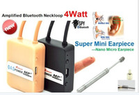 Wholesale 4 Watt Powerful Top Pro Bluetooth Neckloop with Supr Nano Earpiece