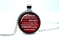 act glass - 10pcs Divergent inspire Dauntless Manifesto Quote Be Brave Acts of Bravery divergent Glass Photo Cabochon Necklace