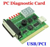 Wholesale New Computer Accessories USB PC PCI Diagnostic Card USB Post Card Motherboard Analyzer Tester for Notebook Laptop