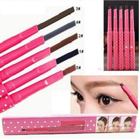 Wholesale Hot sale eyebrow pencil Waterproof Longlasting Make up Eye brow Pencil Eye Brow Liner Makeup Tools Different Colors MU