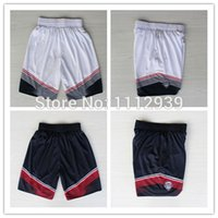 Wholesale Cheap New USA Dream Eleven Team Dark Blue White Basketball Jersey And Basketball Shorts Embroidery Logos