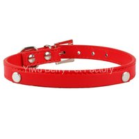 berry prices - Berry Personalized PU Leather Dog Collar DIY Dog Collars Price not include the letters and the charm white blue pink red black