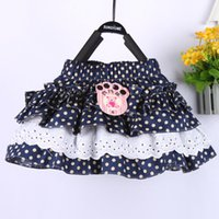 Cheap New 2014 cotton skirt baby girl skirts toddler kids dot skirts (please choose size according to the size chart)