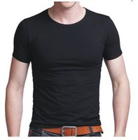 summer clothes for men - new men shirts for solid colors men clothing tees shirts summer short sleeve tees t shirts