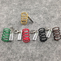 adjustable coilover springs - NOS Turbo Adjustable Tein Coilover Shock Absorber Spring Damper tuning keychain keyring keyfob key chain colors