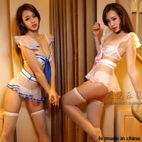 Wholesale Sailor Suit Uniform Temptation Sexy Lingerie Cosplay Lingerie Sexy Hot Sex Clothes Ropa Interior Mujer Sexy Lenceria Erotica