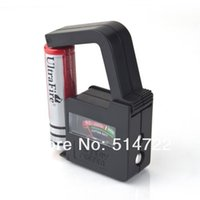 Wholesale New arrival Universal Battery Volt Tester AA AAA C D V Button Cell