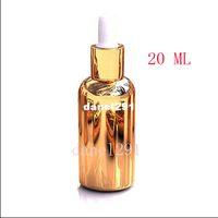 Wholesale Hot Sale Freeshipping Gold Imported oil bottles ml dropper bottles gold small bottle of medicine bottles sub bottling