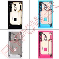 Wholesale For Nokia Lumia Battery Back Door Cover Housing in Black White Red Blue colors Guarantee
