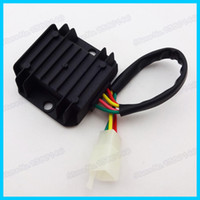 Cheap 4 Wire Male Plug Voltage Regulator Rectifier For ATV Quad Moped Scooter Dirt Pit Bike Motorcycle order<$18no track