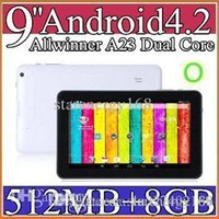 allwinner tablet review - 100x quot Allwinner A23 Dual Core Tablet PC Android MB GB GHz Wifi Capacitive Screen Dual Camera Tablet Reviews PB9A