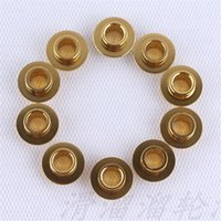 axis shoes - Golden Color Skating Flying Spacer Bushing Roller Skates Sleeve Set Roller Skate Shoes Bearing Axis
